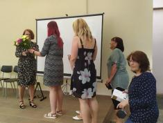 Knihovnice gratulují