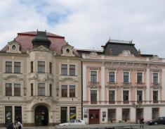 Městská knihovna sídlí naMasarykově náměstí