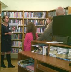Komentovaná prohlídka knihovny 2016